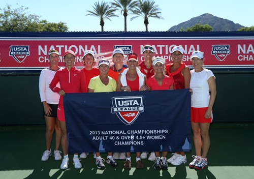 2013 USTA League Adult 40 & Over 4.5 + National Championships